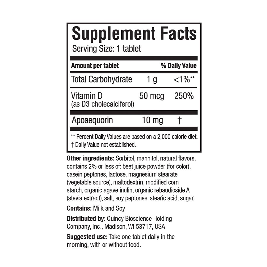 RS-Chew Supplement Facts